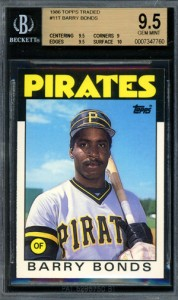 1986 Topps Traded Barry Bonds BGS 9.5 178x300 Image