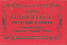 1990 Topps Traded Tiffany Set 260x175 Image