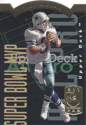 1993 SP Football All Pro Troy Aikman1 Image