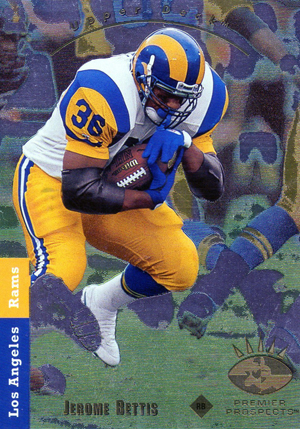 1993 SP Football Jerome Bettis RC Image