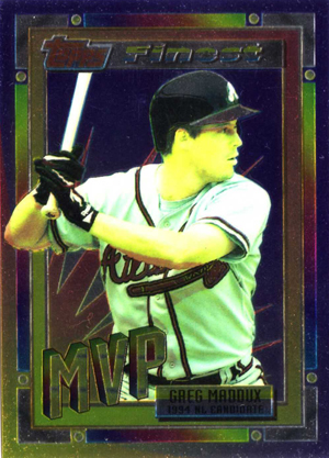 1994 Topps Traded Finest Greg Maddux Image