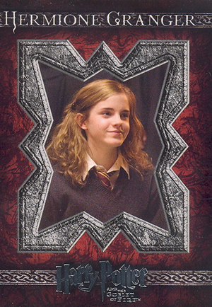 2005 Artbox Harry Potter and the Goblet of Fire Base Card