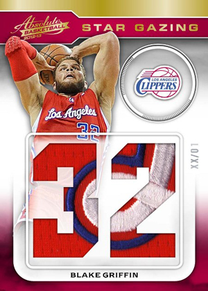 2012 13 Panini Absolute Basketball Star Gazing Patch Blake Griffin1 Image