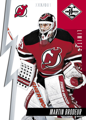 2012 13 Panini Limited Hockey Limited Duels Martin Brodeur Image