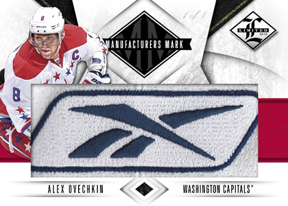 2012 13 Panini Limited Hockey Manufacturers Mark Alexander Ovechkin Image