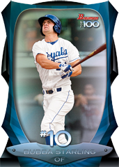 2013 Bowman Baseball Top 100 Bubba Starling Image