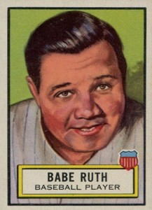 1952 Topps Look n See 15 Babe Ruth 217x300 Image