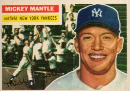1956 Topps Mickey Mantle 135 260x181 Image