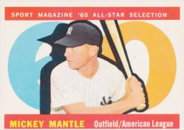 1960 Topps Mickey Mantle 563 All Star 260x183 Image