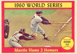 1961 Topps Mickey Mantle 307 World Series Game 2 260x183 Image