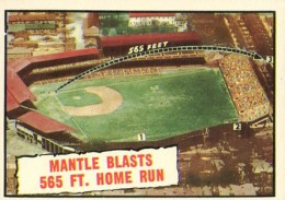1961 Topps Mickey Mantle 406 565 ft HR 260x183 Image