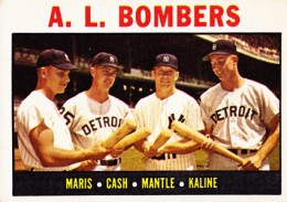 1964 Topps Mickey Mantle 331 AL Bombers 260x183 Image