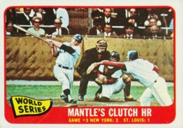 1965 Topps Mickey Mantle WS Game 3 260x183 Image