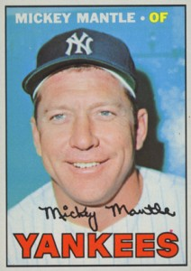 1967 Topps Mickey Mantle 150 212x300 Image