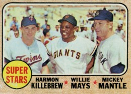1968 Topps Mickey Mantle 490 Super Stars 260x188 Image