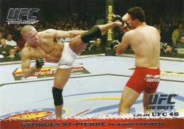 2009 Topps UFC Round 1 Georges St Pierre 260x183 Image