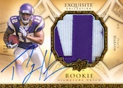 2009 Upper Deck Exquisite Football Rookie Signaure Patch Card Image