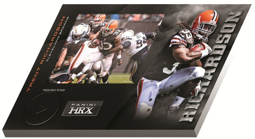 2012 Panini Totally Certified Football HRX Trent Richardson Image