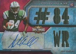 2012 Topps Triple Threads Football Stephen Hill RC 84 WR 260x185 Image