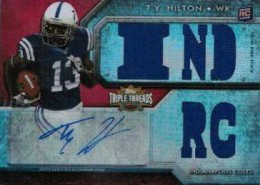 2012 Topps Triple Threads Football TY Hilton RC IND RC 260x185 Image