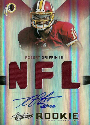 2012 Absolute Robert Griffin III RC