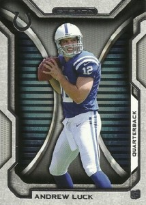 2012 Topps Strata Football 150 Andrew Luck RC 214x300 Image