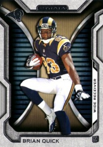 2012 Topps Strata Football Brian Quick 210x300 Image