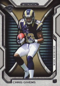 2012 Topps Strata Football Retail Rookies 107 Chris Givens 212x300 Image