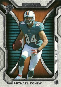 2012 Topps Strata Football Retail Rookies 128 Michael Egnew 212x300 Image