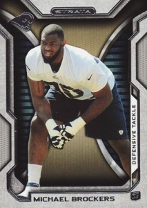 2012 Topps Strata Football Retail Rookies 137 Michael Brockers 213x300 Image
