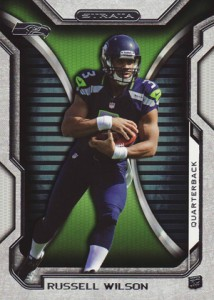 2012 Topps Strata Football Retail Rookies 29 Russell Wilson 214x300 Image