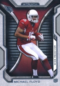 2012 Topps Strata Football Retail Rookies 33 Michael Floyd 211x300 Image