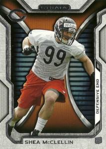 2012 Topps Strata Football Retail Rookies 62 Shea McLellin 213x300 Image