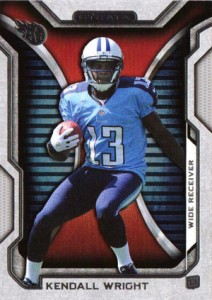 2012 Topps Strata Football Retail Rookies 85 Kendall Wright 212x300 Image