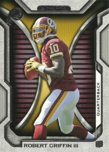 2012 Topps Strata Football Robert Griffin III RC 215x300 Image