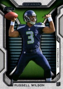 2012 Topps Strata Football Russell Wilson RC 213x300 Image