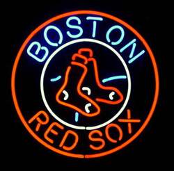 Red Sox Neon Sign Image