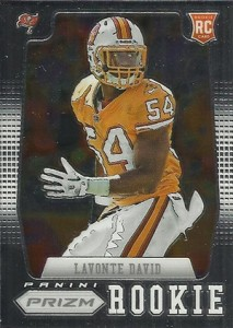 2012 Panini Prizm Football 278 Lavonte David RC 213x300 Image