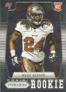 2012 Panini Prizm Football 280 Mark Barron RC 216x300 Image