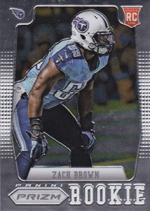 2012 Panini Prizm Football 295 Zach Brown RC 214x300 Image