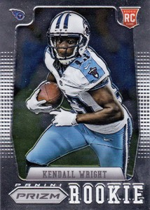 2012 Panini Prizm Football 317 Kendall Wright RC 214x300 Image