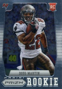 2012 Panini Prizm Football Rookie Variations 212 Doug Martin 210x300 Image