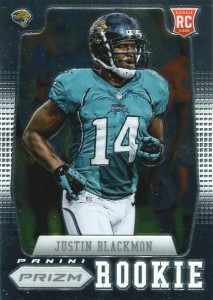 2012 Panini Prizm Football Rookie Variations 217 Justin Blackmon 213x300 Image