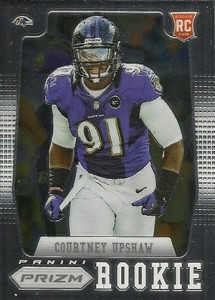 2012 Panini Prizm Football Rookie Variations 249 Courtney Upshaw 215x300 Image