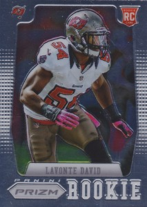 2012 Panini Prizm Football Rookie Variations 278 Lavonte David 213x300 Image