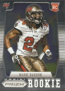 2012 Panini Prizm Football Rookie Variations 280 Mark Barron 215x300 Image