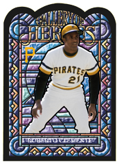 2013 Topps Archives Baseball Gallery of Heroes Roberto Clemente Image