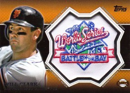 2013 Topps Series 1 Baseball Commemorative Patch CP 19 Will Clark 260x186 Image