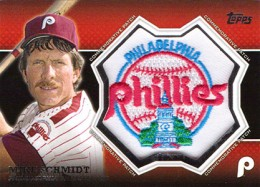 2013 Topps Series 1 Baseball Commemorative Patch CP 23 Mike Schmidt 260x187 Image