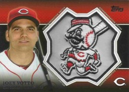 2013 Topps Series 1 Baseball Commemorative Patch CP 25 Joey Votto 260x186 Image